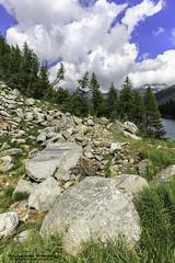 Lago di Devero - Verbano Cusio Ossola (Pasquale D'Anna) Tags: lago nuvole cielo rocce acqua piante montagna lagodidevero