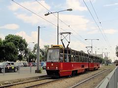 Konstal 105Ne, #1394+1393, Tramwaje Warszawskie (transport131) Tags: tram tramwaj konstal 105n tw ztm warszawa warsaw 105ne
