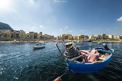 Aspra (PA) (ettorelomb) Tags: aspra boat sea sicilia mare colors barca beach palermo italy summer