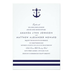 (Nautical Navy Wedding Invitation) #Anchor, #Beach, #Blue, #Cute, #Elegant, #Initials, #Matching, #Modern, #Monogram, #Nautical, #Navy, #Ocean, #Origami, #Prints, #Rsvp, #Seahorse, #Stylish, #Text, #Theme, #Themed, #Wedding, #With, #Your is available on C (CustomWeddingInvitations) Tags: nautical navy wedding invitation anchor beach blue cute elegant initials matching modern monogram ocean origami prints rsvp seahorse stylish text theme themed with your is available custom unique invitations store httpcustomweddinginvitationsringscakegownsanniversaryreceptionflowersgiftdressesshoesclothingaccessoriesinvitationsbinauralbeatsbrainwaveentrainmentcomnauticalnavyweddinginvitation2 weddinginvitation weddinginvitations
