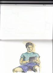 CansonA5_009 2016 (JENS01) Tags: zeichnung zeichnen drawing malerei bunt selbstportrait portrait ich icke malen colorpencil buntstift sketchbook sketches berlin friedrichshain art kunst skizze painting dessin