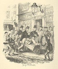 """""""A Pickpocket in Custody"""" (Rescued by Rover) Tags: dickens charles sketches by boz george cruikshank victorian police crime illustration"""