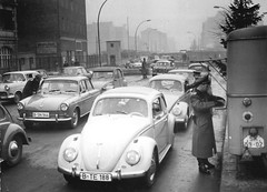 Berlin, 1963 (cruisemagazine) Tags: date december 1963location chausseestrasse berlin 1963source eva bruggmann das bundesarchivwhat do you see here