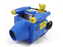 Mini Racers: Ballistic Belville Bear (Unijob) Tags: lego leg godt mini miniature racer racers racing kart mario belville bear blocks blue yellow shell nascar power beartech powered fuel cannon cone cylinder stripes wheel lever steering tire tyre photo teddy plush animal fig figure turbines turbine competition wheels champion speed friends slopes curved wacky races unijob lindo moc own creation
