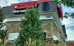 Cookout Lumberton, NC. (dccradio) Tags: lumberton nc northcarolina robesoncounty cookout restaurant drivethru fastfood eat shakes burgers food tree trees greenery sky clouds sign building