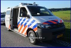 Dutch Police T5 GP Prison Van NN. (NikonDirk) Tags: politie police nikondirk netherlands nederland vw volkswagen transporter t5 gp touran friesland fryslan prison van holland dutch cops cop hulpverlening frysln frl cellenbus cellen bus foto 8sbb70 86szb2