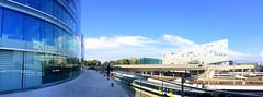 GCSP terrace (oobwoodman) Tags: switzerland suisse schweiz geneva genve genf maisondelapaix gcsp genevacentreforsecuritypolicy building gebude btiment architecture architektur modern glass windows fenster fentres