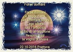 Forse domani (Poetyca) Tags: featured image immagini e poesie sfumature poetiche poesia