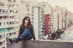 Clau en Buenos Aires (~eriani~) Tags: argentina buenosaires fineartphotographer losangelesglamourphotographe losangelesheadshotphotograph southamerica southbayportraitphotographer casual city darkhair dusk erickagiulianiphotography female girl latin latina model nikon outdoor street sunglasses urban woman young losangelesglamourphotographer losangelesheadshotphotographer avecabildo palermo ciudadautonoma capitalfederal onrooftop boliviana architecture tallbuildings apartments balcony fadedlook sittingontheedge skyscraper