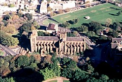 sydney 1987 (DOLCEVITALUX) Tags: sydneyoperahouse stmaryscathedral darlingharbour centrepointtower sydneyaustralia australia sydney slide ld photosold photos church