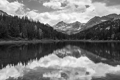 Little Lakes Valley (zh3nya) Tags: llv little lakes valley blackandwhite bw lake water reflection sierranevada sierra highsierra bearcreekspire mountains alpine subalpine peaks rugged sigma35mmf14 d750 forest woods nature outdoors trees california ca easternsierra easterncalifornia