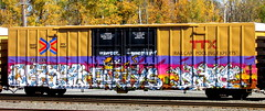 corpse - partys - duone (timetomakethepasta) Tags: corpse hd sfr tbox boxcar ttx freight train graffiti art it aint easy being steezy rtd by duone partys selkirk new york photography