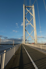 Forth Road Bridge #5 (Claire Stones) Tags: forthroadbridge october nikon cloud bluesky firthofforth clouds scotland forth