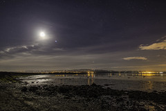 Lough Foyle at Night (john.purvis) Tags: nightsky loughfoyle ballykelly derry londonderry