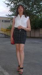 Afternoon look (Alessia Cross) Tags: crossdresser tgirl transgender transvestite travestito