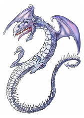 Froath, a Winged Dragon. (giegjohn) Tags: dragon flight monster tolkien