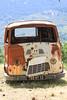 abgestellt (pippilotta68) Tags: korsika natur ammeer rostig rost alt kaputt auto bus