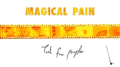 Magical Pain (Le c-Moufl) Tags: film scan photomanipulation title negative yellow 60s