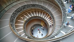 Spiral staircase (P4Jags) Tags: rome italy stair spiral vatican staircase