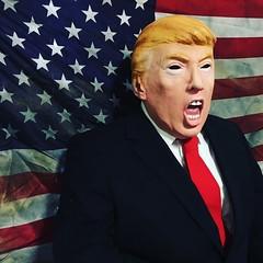 Donald Trump Lookalike (humanstatuebodyart) Tags: donald trump lookalike