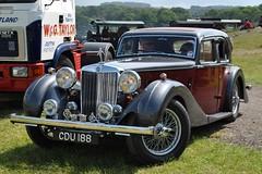 CDU188 (stamper104) Tags: classic car 1936 vintage classiccar transport mg british sa oldcar worldcars alltypesoftransport anykindofvehicles transportintheframe