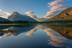 Worlds (JoLoLog) Tags: trees lake canada mountains clouds alberta rockymountains raya mountrundle banffnationalpark lorien canadianrockies vermilionlakes canonxsi bestcapturesaoi elitegalleryaoi