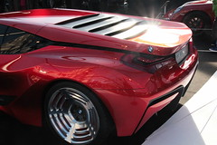 BMW M1 Hommage, side rear view (Thomas Wickham) Tags: car festival automobile view m1 side rear international invalides bmw concept hommage 2015