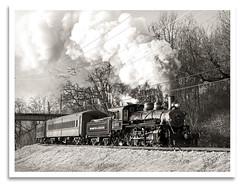 Neyland (bogray) Tags: blackandwhite sepia train mono tn knoxville locomotive baldwin steamengine 1925 lindy 280 threeriversrambler washingtonlincolnton wl203