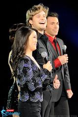 Charlie White (with Kristi Yamaguchi, Meryl Davis and Michael Weiss)