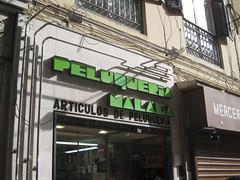 Peluquera Mlaga (frank&frei) Tags: espaa andaluca spain lettering mlaga streettype schriftimffentlichenraum