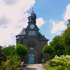 Allertshausen Kirche (blasjaz) Tags: germany kirchen jugendstil hesse rabenau allertshausen kreisgiessen blasjaz kirchenimkreisgiessen allertshausenrabenau