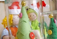 Por que no Natal tem verde por todos os lados? (Ateliê Bonifrati) Tags: tree cute natal diy craft árvore tutorial pap molde passoapasso bonifrati craftchristmas natalcraft