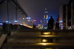 3 more steps (wcheunga1) Tags: street city light urban hk building night hongkong photo nikon view shot harbour outdoor snap d750