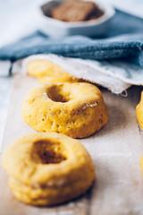 54.4 (apfff) Tags: food pumpkin dessert ginger baking yummy yum sweet chocolate spice sugar donuts foodie prettybaked prettybakedpl