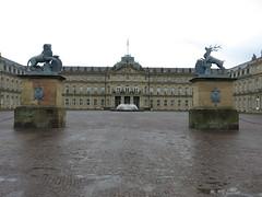 New Palace in Stuttgart (dungodung) Tags: germany deutschland stuttgart palace schloss palacesquare schlos newpalace schlosplatz neueschloss