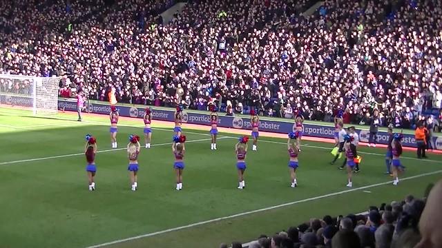 Entrée des joueurs Crystal Palace FC  - Arsenal FC