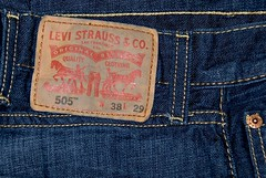 5323. The Levi brand (Di's Eyes) Tags: pants label jeans denim levis brand odc