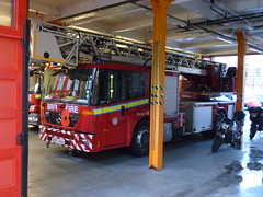 BV57 AUA (markkirk85) Tags: road old london station fire mercedes kent tl engine turntable ladder appliance currently brigade aua dockhead stationed bv57 econic bv57aua