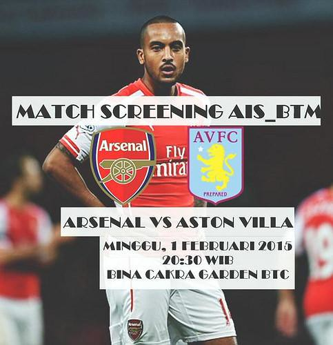 AIS INDONESIA #AIS @AIS_IND: AIS Batam #AIS @AIS_BTM: #MatchScreeningAISBTM ARSENAL VS ASTON VILLA | Minggu 20:30 WIB | BC Garden BTC | HTM 10k … soU6vfV6gZr