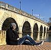 Under bridge (abdelbarietaliouan) Tags: puente arte vida mirada diseño mundo rumano