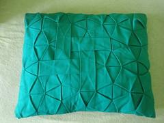 Square Weave as my new pillow (Monika Hankova) Tags: origami fabric tessellation