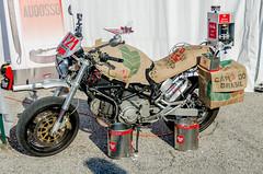 the Pun bike (troy.jackman) Tags: world show italy bike monster nikon italia motorcycles rimini moto motorcycle week burnout ducati stunt evo wheelie duc 2014 hypermotard d7100 diavel