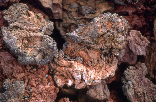 Eisenhaltige Lava