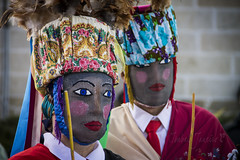 Bonitas de Sande (I. Janeiro) Tags: de galicia sande bonitas tradicion ourense mascaras entroido cartelle