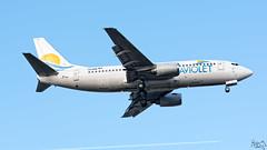 Aviolet Boeing B733 YU-ANK (Kris SD) Tags: boeing belgrade beg aviolet b733 yuank lybe