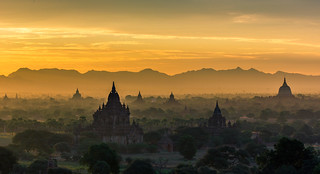 The Sunrise of Bagan - Myanmar