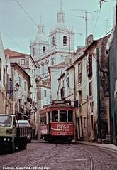 Escolas Gerais (ernstkers) Tags: 721 carris ccfl ccfl721 lisboa portugal streetcar tram tramvia tranvia trolley elctrico strasenbahn bonde sprvagn