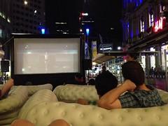 White night à Melbourne