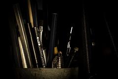 tiles (imanol.riggio) Tags: pen pencils desk drawing brush pouch dibujo escritorio pincel useful lapices lapicera utiles cartuchera