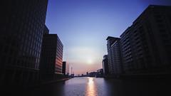 O2 sunrise (maikpham) Tags: sun london sunrise o2 east docklands